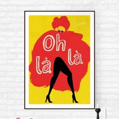 """Oh La La"" Print"