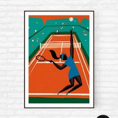 """Affiche """"Roland Garros"""""""