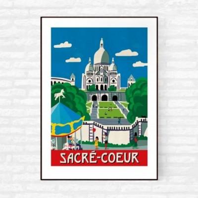 """Sacré Coeur"" Print"