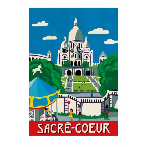 """Affiche """"Sacré Coeur"""""""