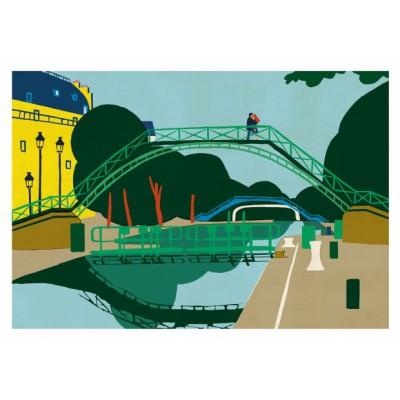 "Affiche ""Canal Saint-Martin"""
