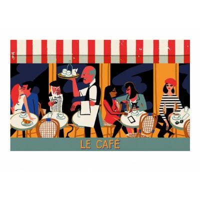 """""""Le Café"""" Print"""