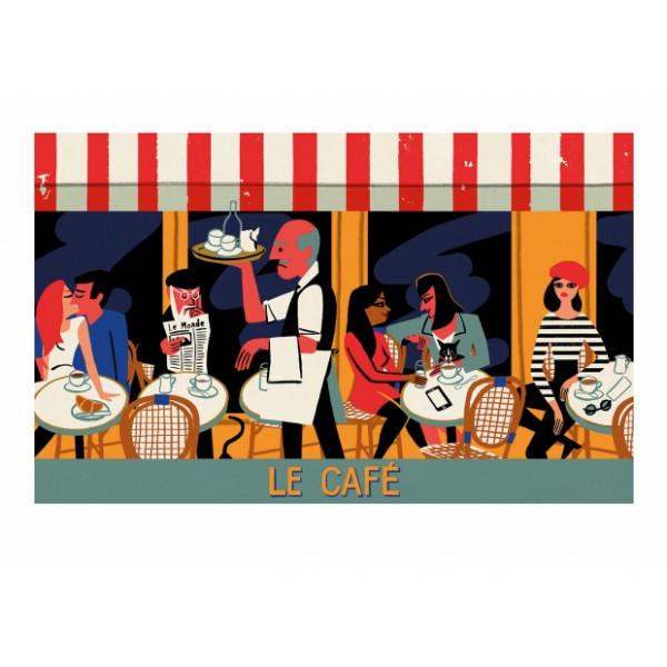 """Affiche """"Le Café"""""""