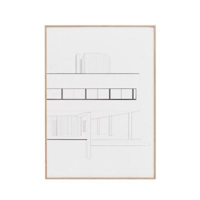 Villa Savoye Print