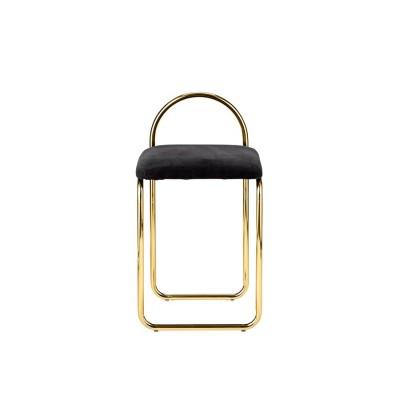 Chaise danoise dorée