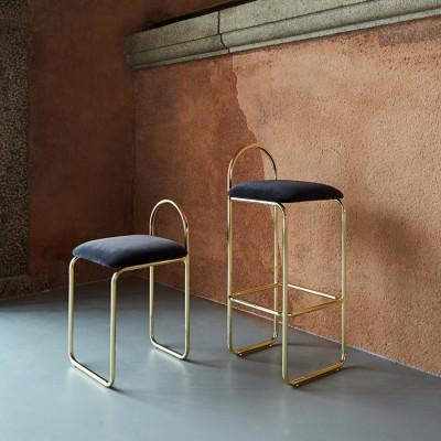 Angui bar chair gold