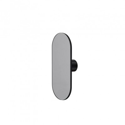 Ovali Mirror black Hook