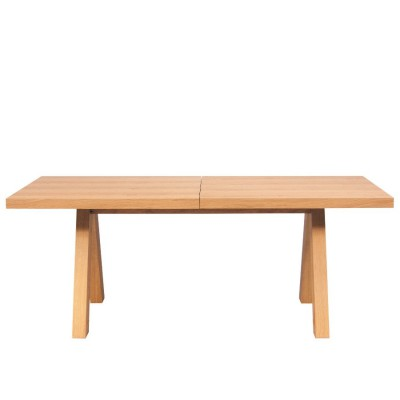 Apex extendible table Oak