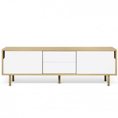 Dann sideboard 201 white and wood