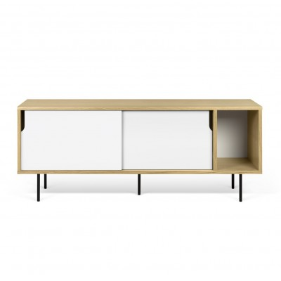 Dann Sideboard white and wood