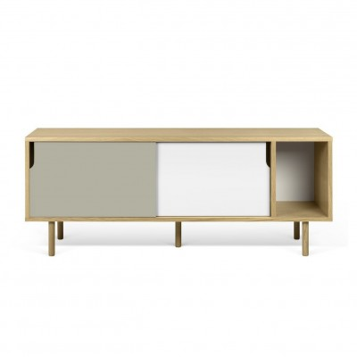 Dann Sideboard white and grey