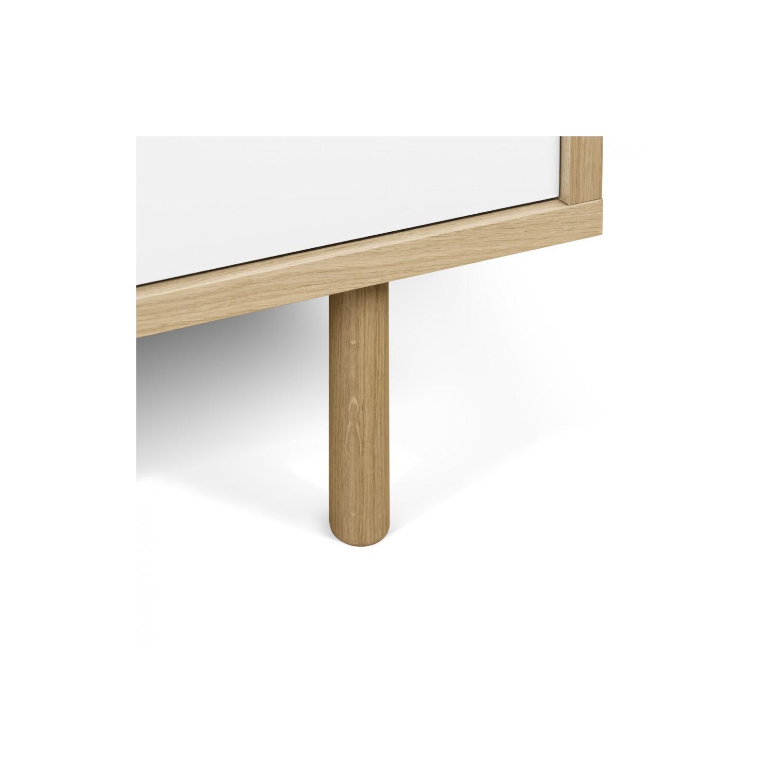 Meuble tv danois blanc arne concept for Meuble danois