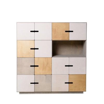 Pix Sideboard 14 doors Grey
