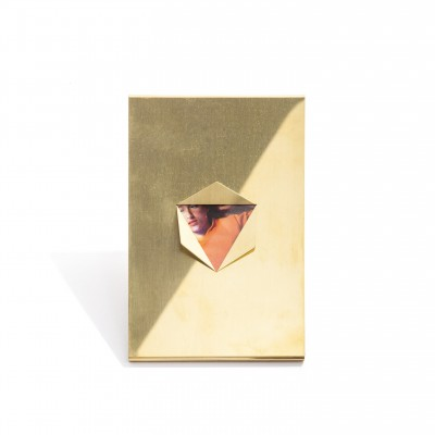 Triangle Frame Brass