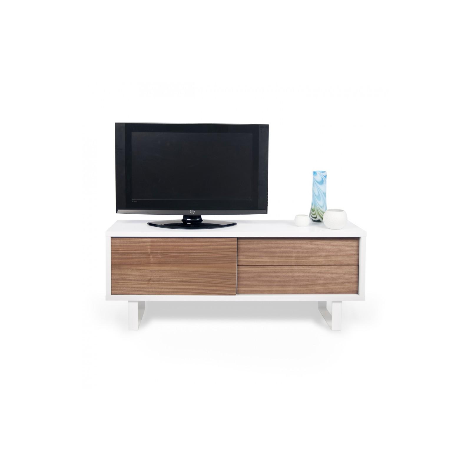 Meuble Tv Havane Arne Concept # Meuble Tv Noyer Et Blanc