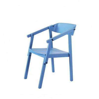 Fauteuil chevalet bleu