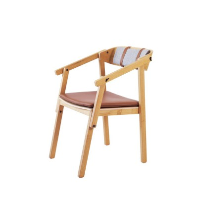 Fauteuil chevalet chêne