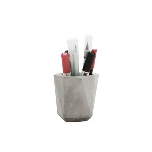 Pot à crayon beton