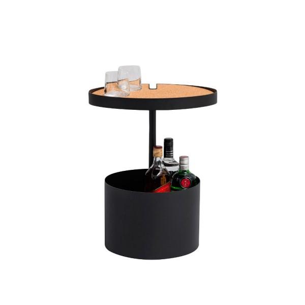 Table Bar Noir
