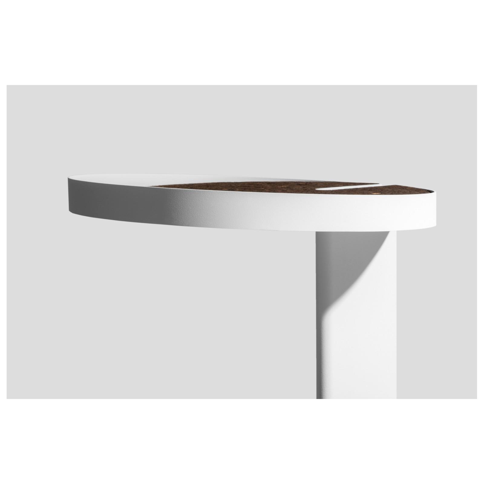 table bar gris clair arne concept. Black Bedroom Furniture Sets. Home Design Ideas