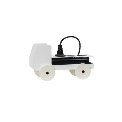 Power strip truck White