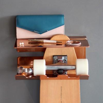 Mini Etagère Skate cuivre