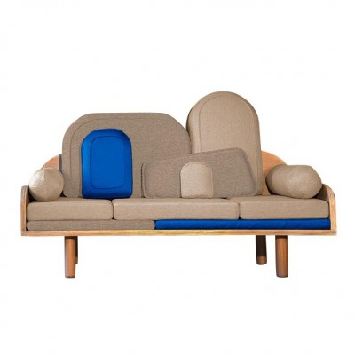Canapé Couchino Bleu