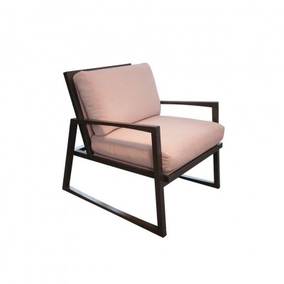 Fauteuil Rocky Rose