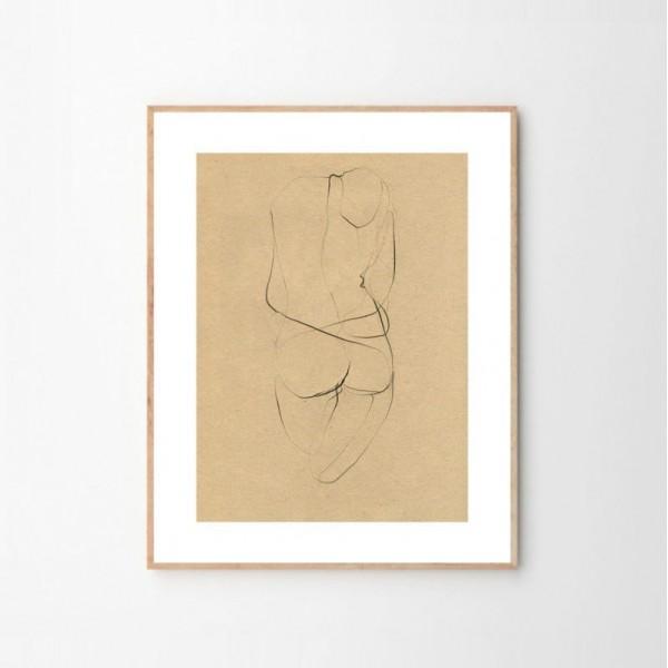 Nude 02 Illustration