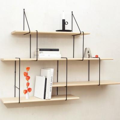 Setup 2 – Ash / Black Shelves