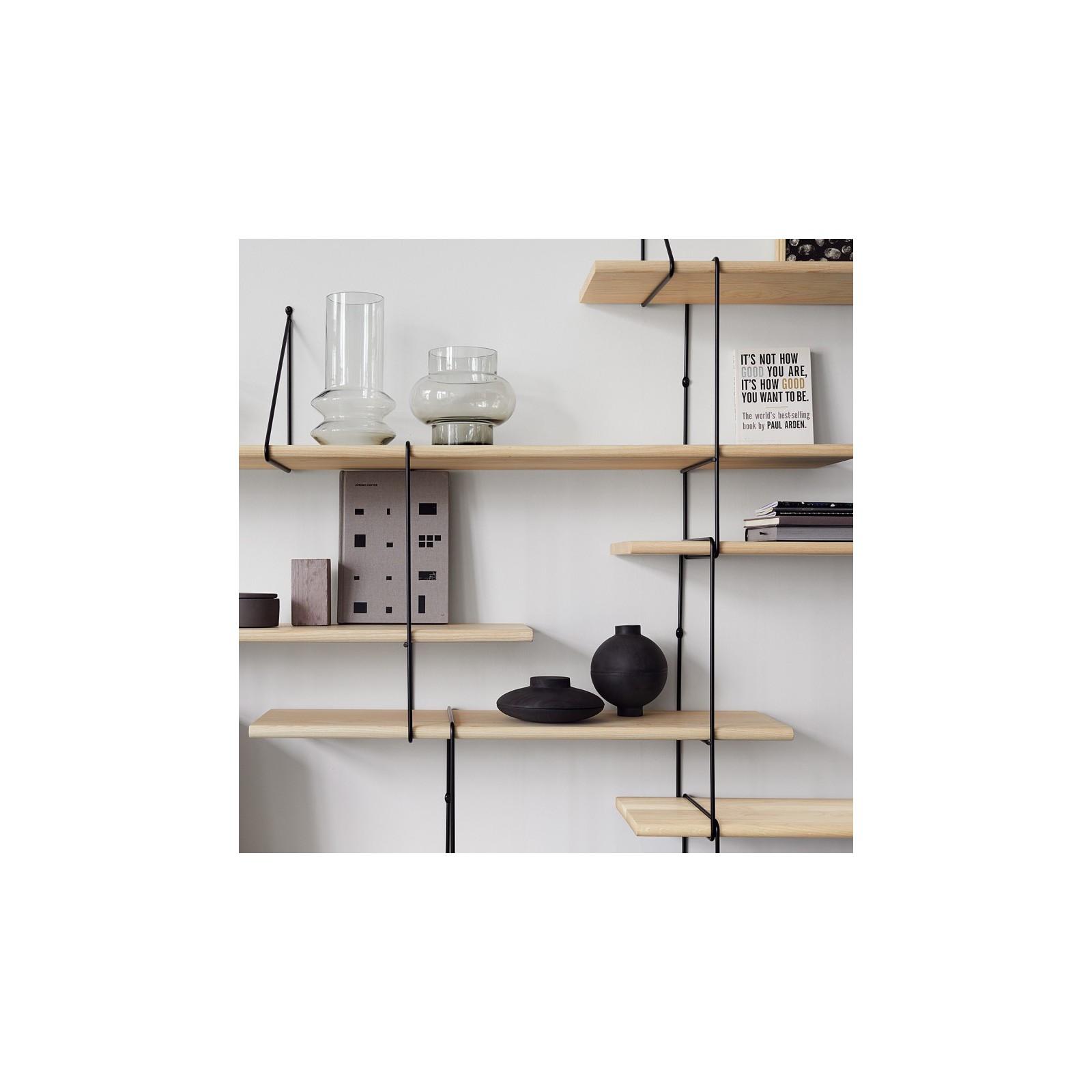 mur d 39 etag res fil fr ne blanc arne concept. Black Bedroom Furniture Sets. Home Design Ideas