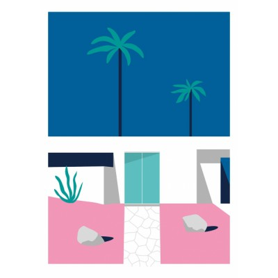 "Illustration ""Palm House 1"""