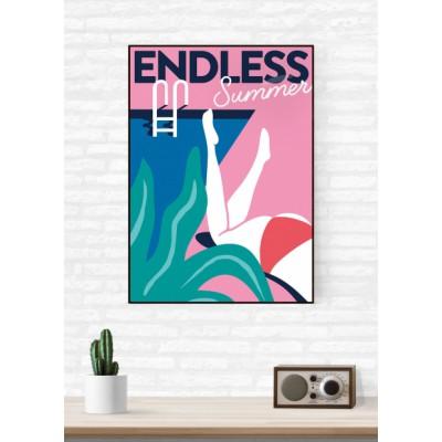 """Endless Summer"" Illustration"
