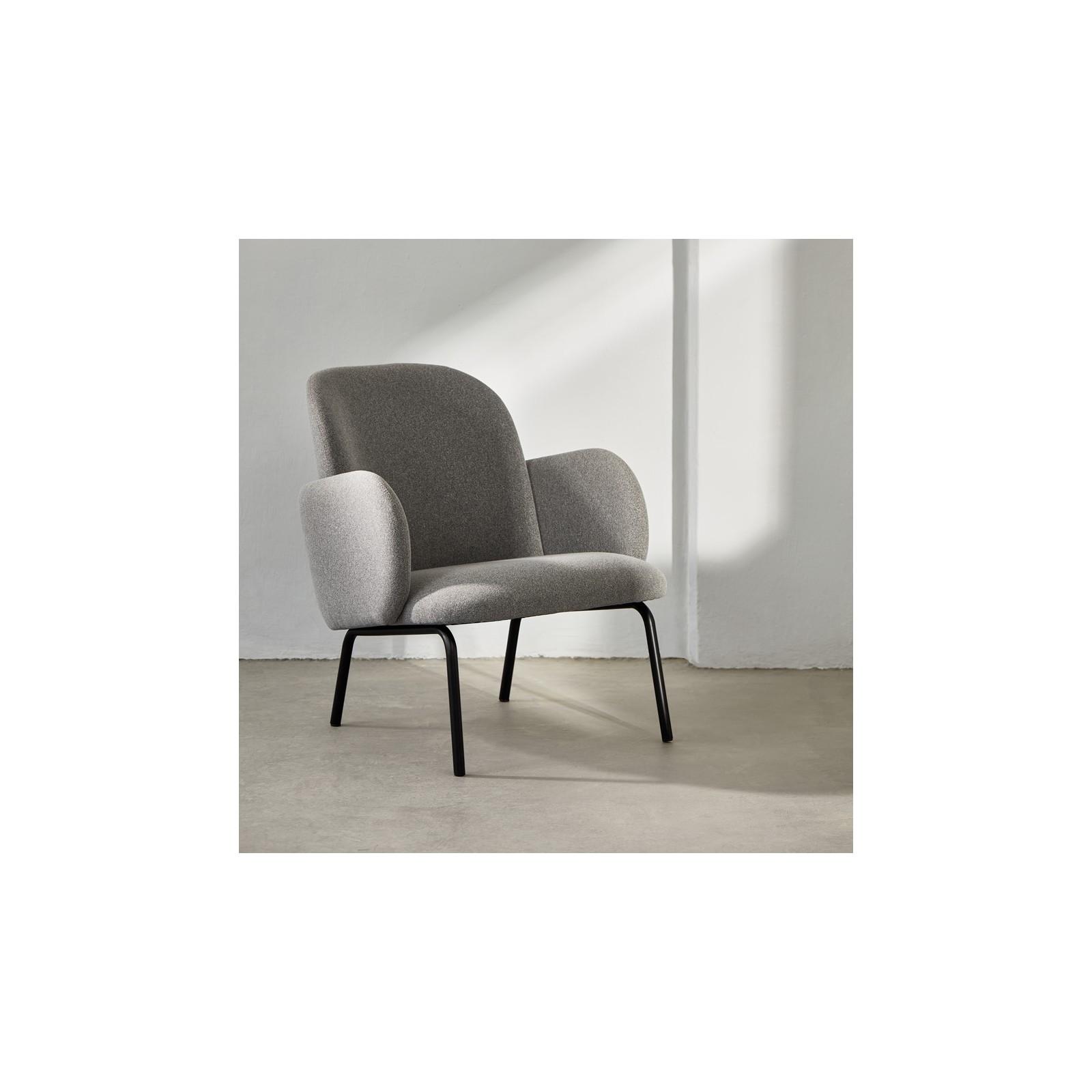 Fauteuil Confort gris clair Arne Concept