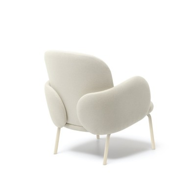 Dost Ivory lounge chair