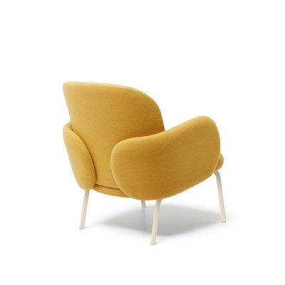 Dost Yellow lounge chair