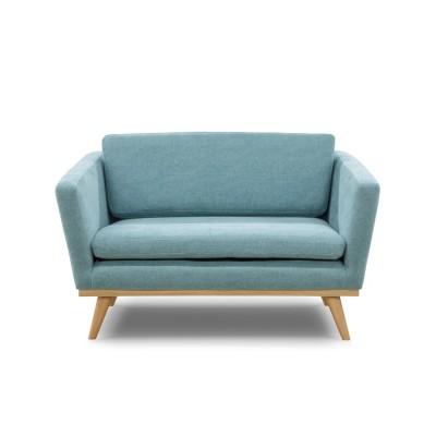 Canapé Vintage Bleu Indien