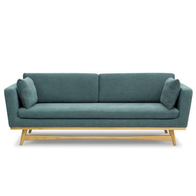 Large Vintage Sofa Indian blue
