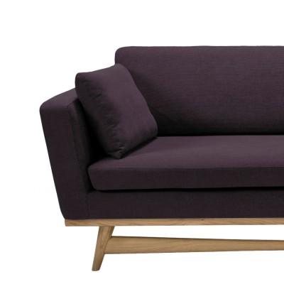 Large Vintage Sofa Purple