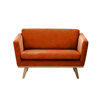 Vintage Sofa fox velvet