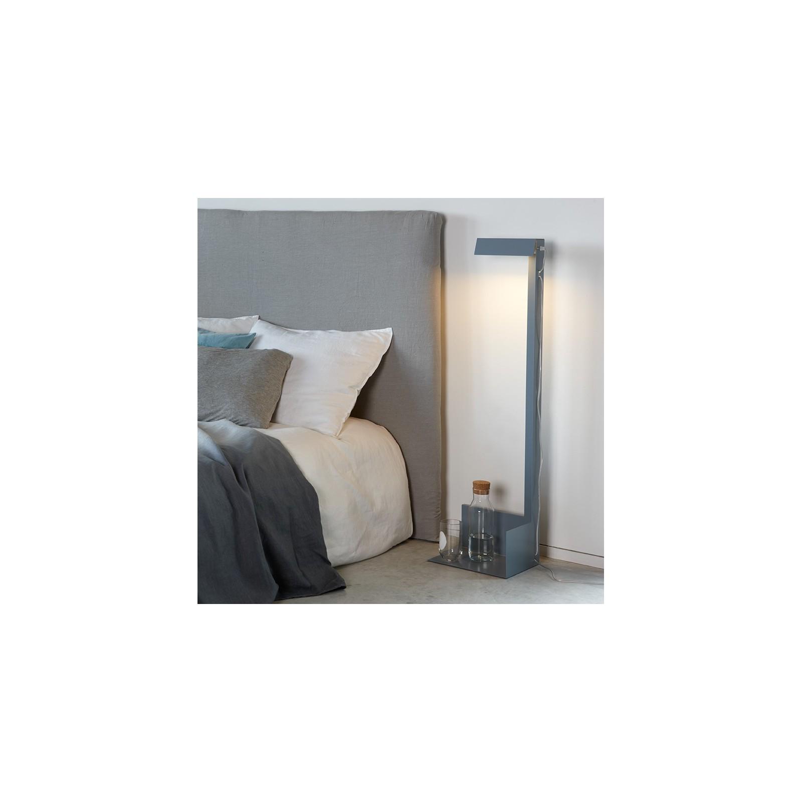 grande lampe lire grise arne concept. Black Bedroom Furniture Sets. Home Design Ideas