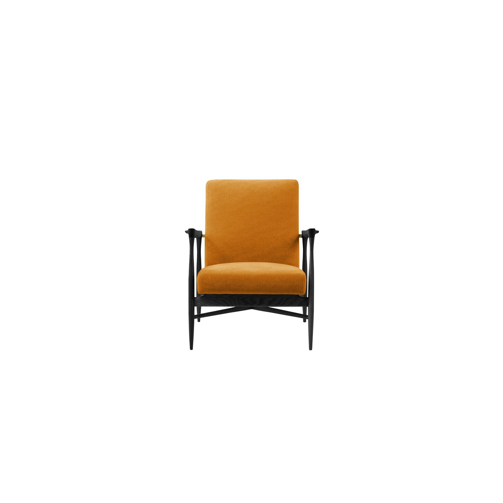 Fauteuil floating black ocre arne concept - Fauteuil floating ...