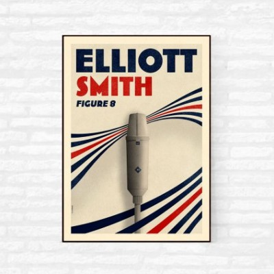 """Eliott Smith"" Illustration"