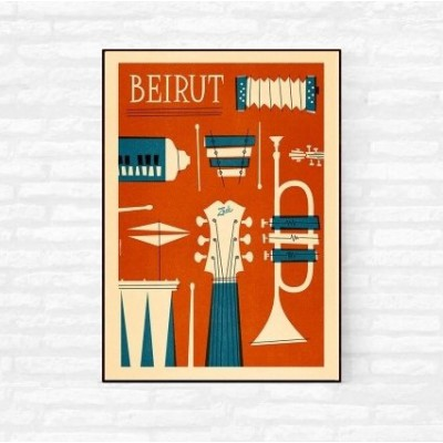 """Beirut"" Illustration"