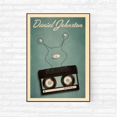 """Daniel Johnston"" Illustration"