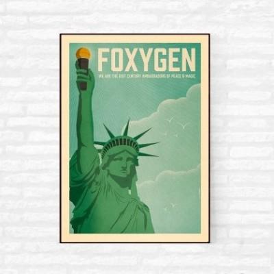 """Foxygen"" Illustration"