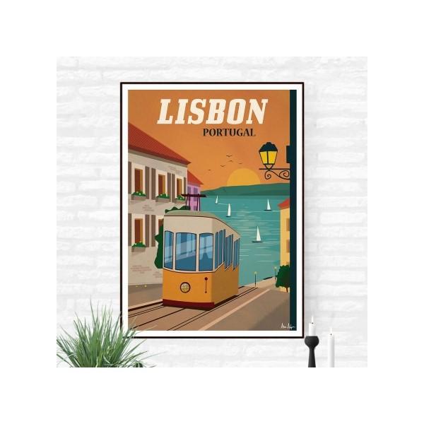 """Illustration """"Lisbonne"""""""