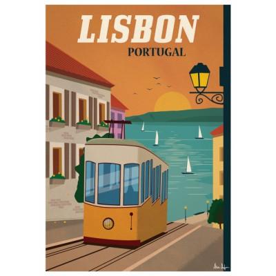 """""""Lisbonne"""" Illustration"""