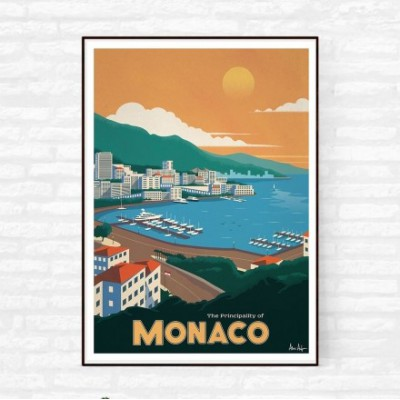 "Illustration ""Monaco"""