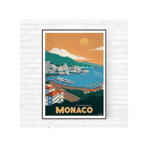 """Illustration """"Monaco"""""""